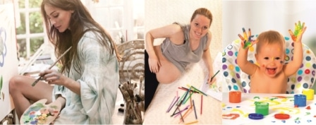 Фото Творчество во время беременности