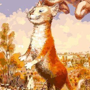 Фото Картина по номерам «Коты Петербурга»