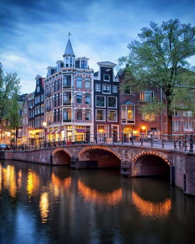 "Фото Картина по номерам ""Амстердам"""
