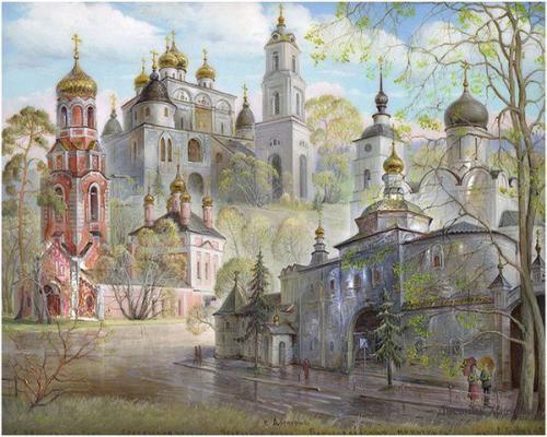"Фото Картина по номерам ""Церковь"""